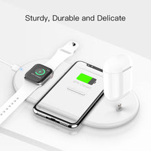 Load image into Gallery viewer, SINREGeek Best 3 in 1 wireless charger airpods pro,Iphone and Apple watch - Wireless520