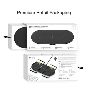 Qi-enabled charging pad