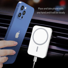 Load image into Gallery viewer, iphone 12 car vent mount charger