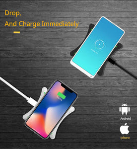 Cordless phone charger for iPhone 11 / 11 Pro / 11 Pro Max/ XS MAX / XR / XS/ X / 8 / 8 Plus / Airpod / Airpods Pro
