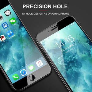screen protector black with precision hole