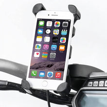 Load image into Gallery viewer, Waterproof Cell Phone Pouch Bicycle & Motorcycle Handlebar