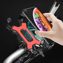 Load image into Gallery viewer,  Waterproof Motorcycle Bicycle Cell Phone GPS Holder