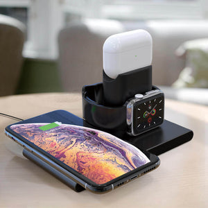 wireless charging dock multiple device