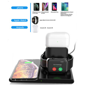 wireless charging dock iphone 11 and airpods