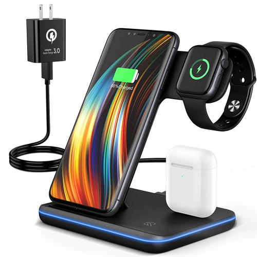 best 3 in 1 wireless charging stand apple