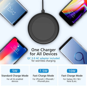 wireless phone charger iphone 11