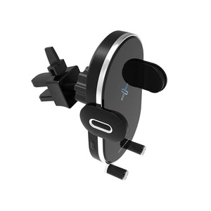 auto clamping wireless charger car mount
