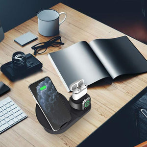 wireless charging station for electronics