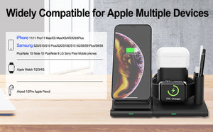 SINREGeek Apple Phone And Watch Charger 4 in 1 Magnetic Detachable Wireless charging(Repurchase At Most) - Wireless520