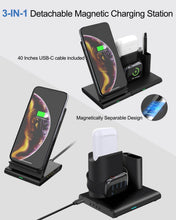 Load image into Gallery viewer, SINREGeek Apple Phone And Watch Charger 4 in 1 Magnetic Detachable Wireless charging(Repurchase At Most) - Wireless520