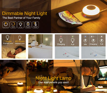 Load image into Gallery viewer, nightstand night light lamp with wireless charger