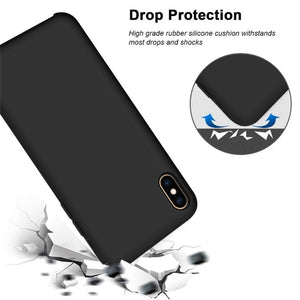 drop protection silicone case iphone 12 mini