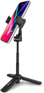 Fotopro Tripod for GoPro Travel Tripod for Smartphone Vlog Video,  Tripod For Phone Desktop with 360 Rotation Work at Home
