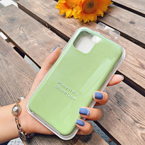green silicone case iphone 12