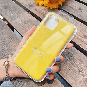 yellow silicone case iphone 7