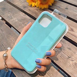 light blue protective case