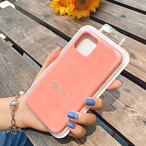 pink silicone protective case