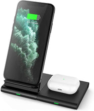 Load image into Gallery viewer, wireless charging pad 3 in 1