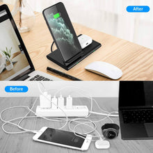 Load image into Gallery viewer, 3 in 1 wireless charger station