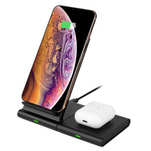 Load image into Gallery viewer, 3 in 1 wireless charger dock