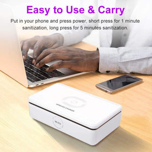 Fast disinfection UV light sanitizer box - Wireless520