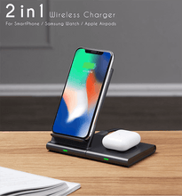 Load image into Gallery viewer, 3 in 1 wireless charger airpods pro