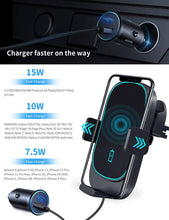 Load image into Gallery viewer, wireless charging pad for car for iphone