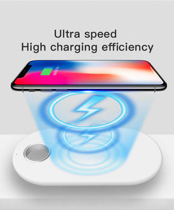best 2 in 1 wireless charging pad