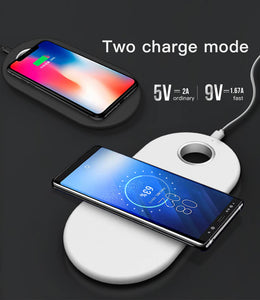 2 in 1 wireless charger apple