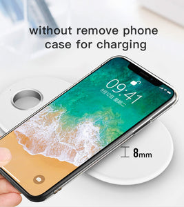 2 in 1 wireless charger apple watch