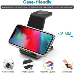 wireless charging station for samsung phone and watch