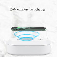 Load image into Gallery viewer, Latest UV Sterilizer wireless charging - Wireless520