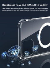 Load image into Gallery viewer, durable clear case wireless charging iphone 12