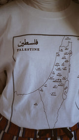 Map of Palestine – T Shirt