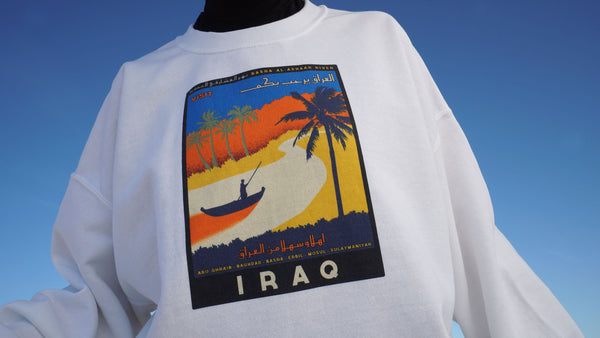 Travel Iraq - Sweater