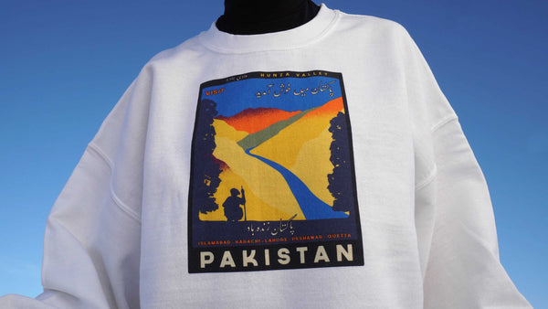 Travel Pakistan - Sweater