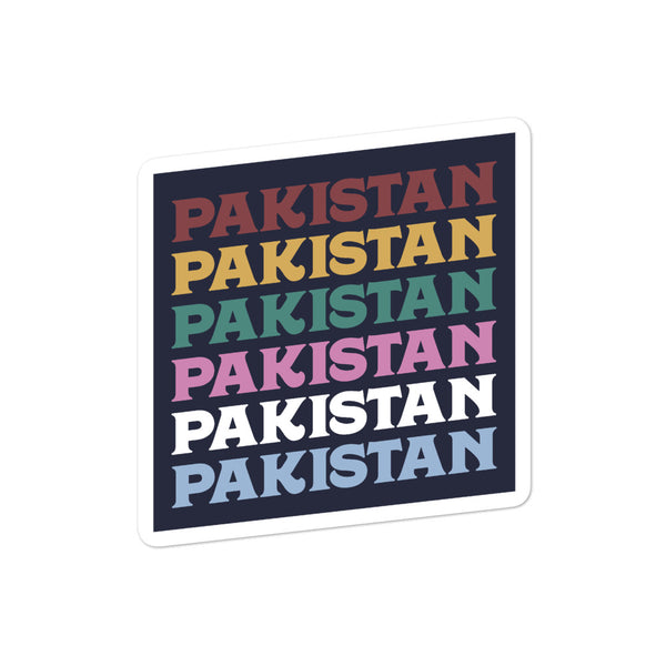 70s Pakistan - Sticker