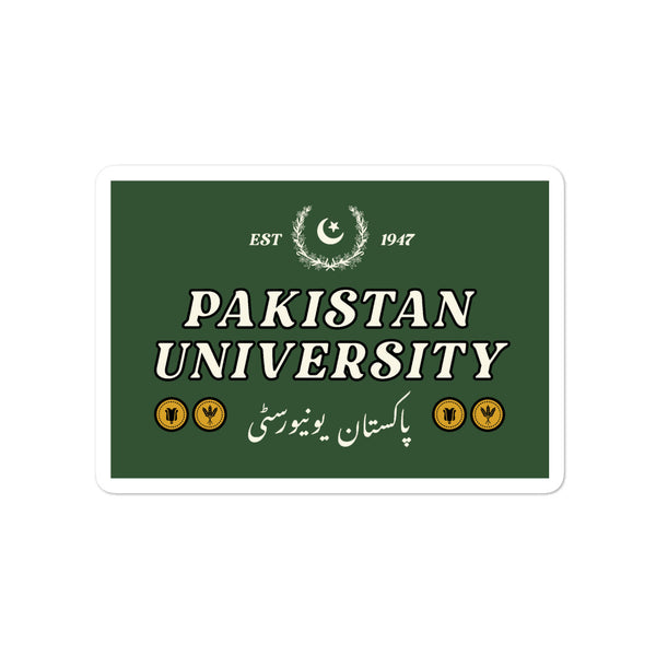 Pakistan University - Sticker