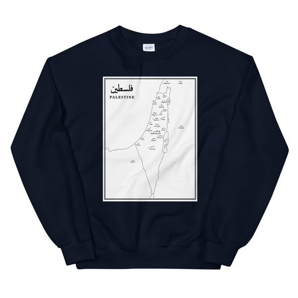 Map of Palestine – Sweater