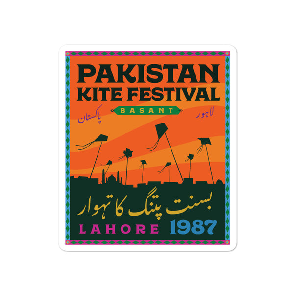Pakistan Kite Festival - Sticker
