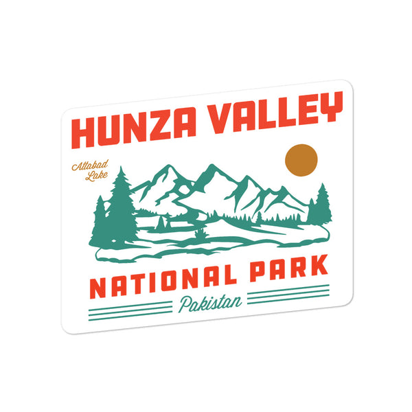 Hunza Valley National Park - Sticker