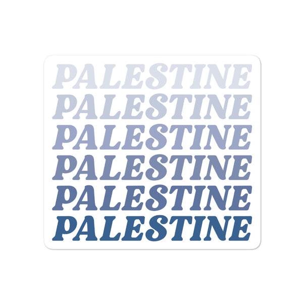 70s Palestine - Sticker
