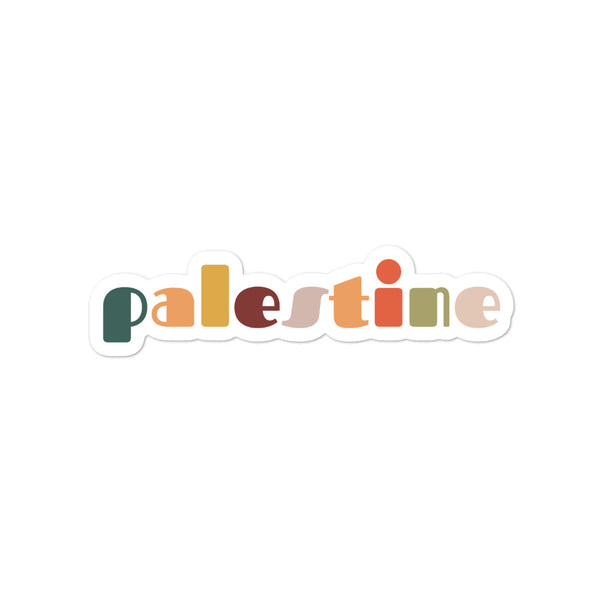 Palestine in Spring - Sticker