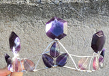 Sacred Geometry Crown : flourite