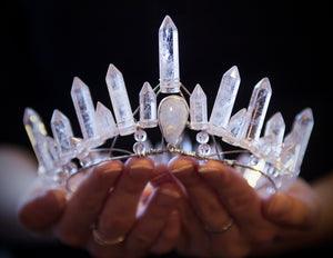 Mountain Witch Quartz Crown
