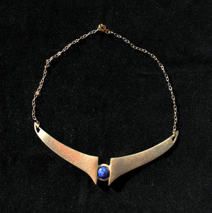 Gates of Dawn Necklace :: brass