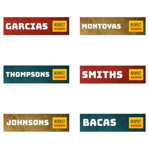 Pack of 10 Custom Bumper Sticker