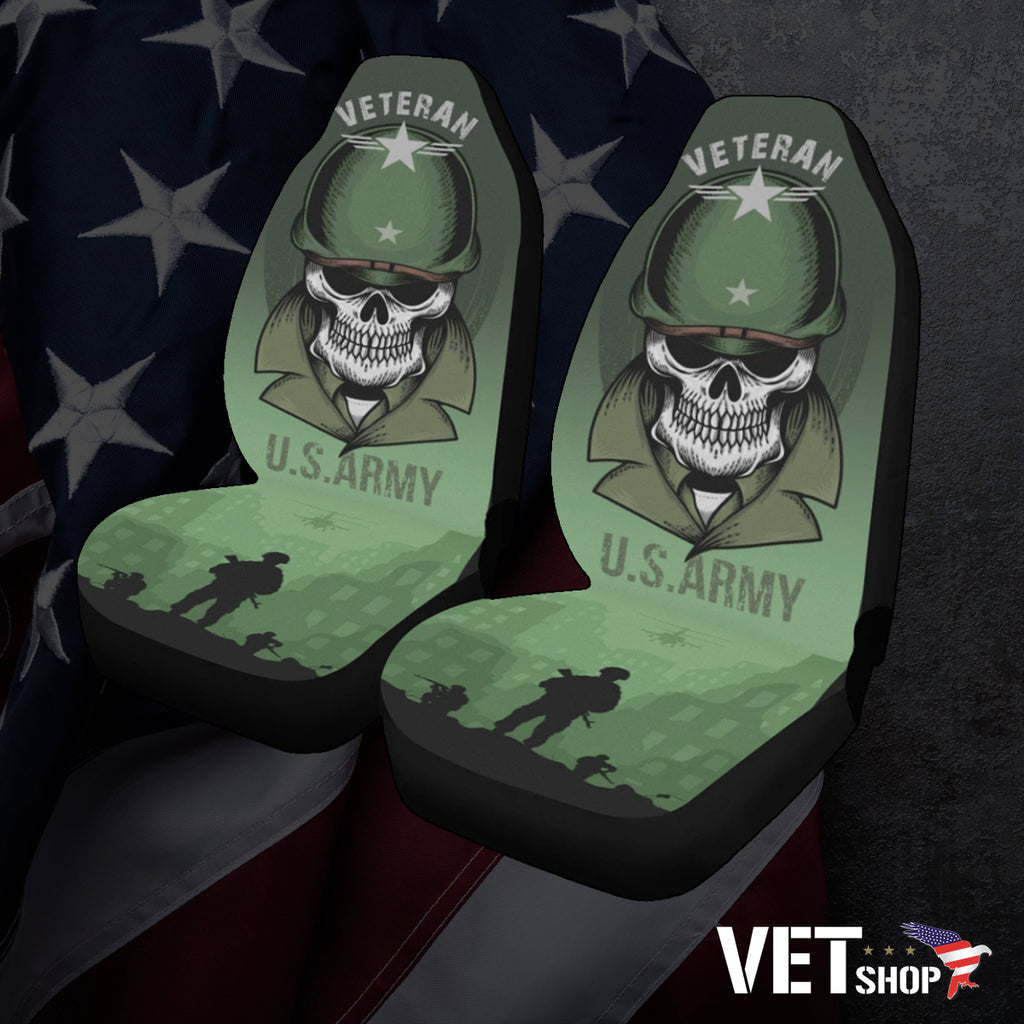 U.S Army Veteran Seat Covers