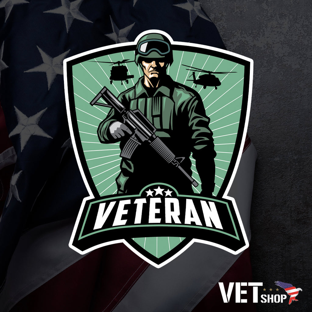 Veteran Honor Sticker